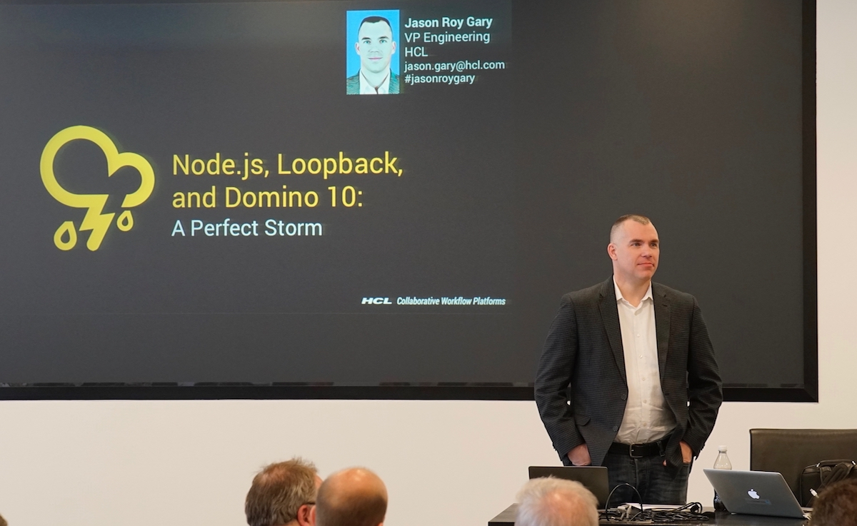 Jason Gary - Node.js, Loopback, and Domino 10: A Perfect Storm