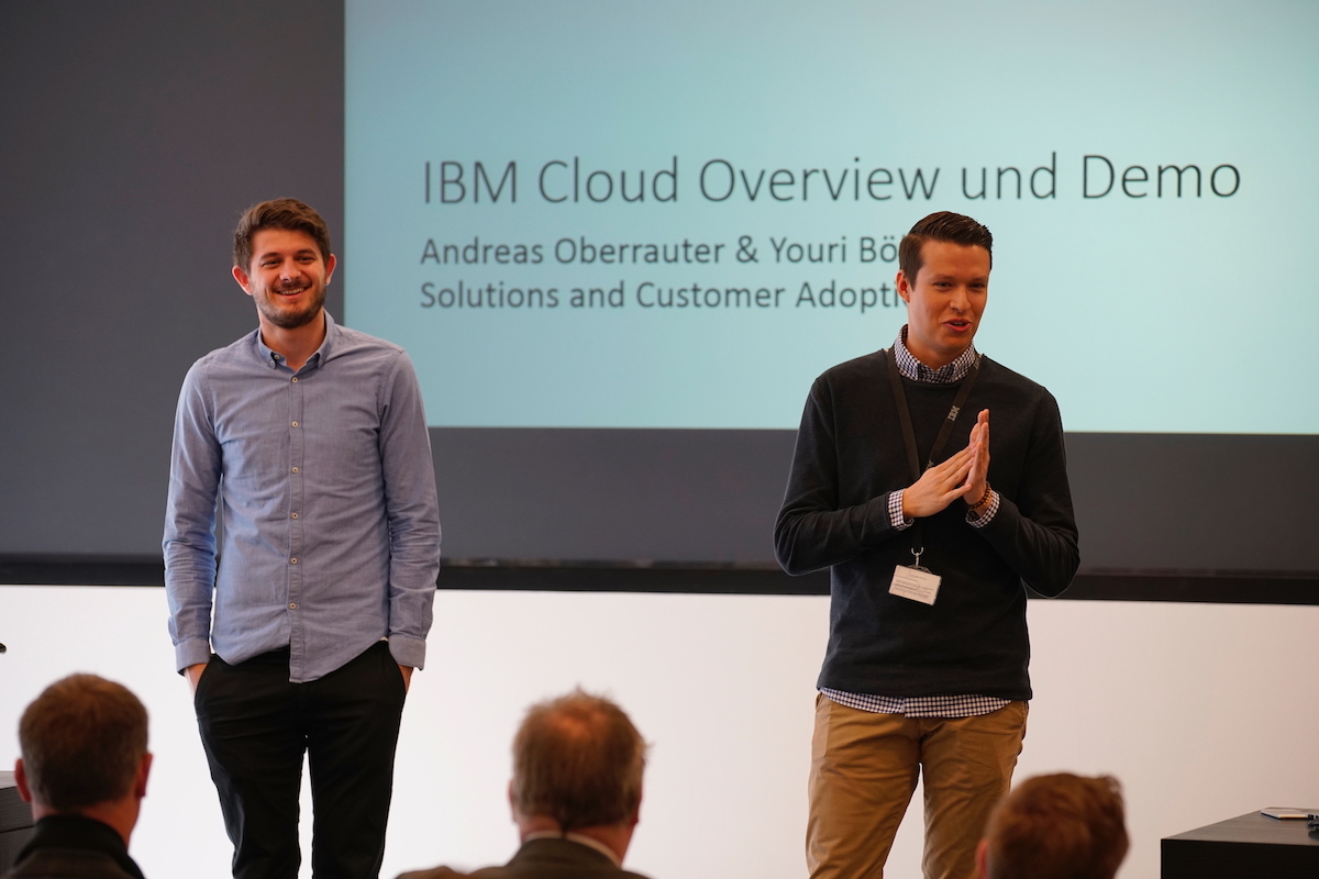 Andreas Oberrauter & Youri Böhler - IBM Cloud Overview und Demo
